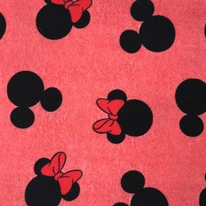 Accessories - Pink Mickey and Minnie Mouse Infinity Scarf